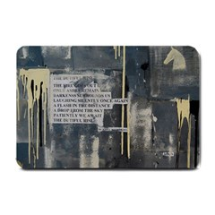 The Dutiful Rise Small Doormat  by timelessartoncanvas
