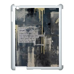 The Dutiful Rise Apple iPad 3/4 Case (White) by timelessartoncanvas