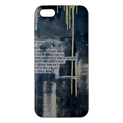 The Dutiful Rise Apple Iphone 5 Premium Hardshell Case by timelessartoncanvas