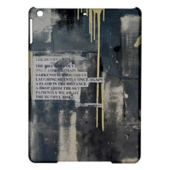 The Dutiful Rise Ipad Air Hardshell Cases by timelessartoncanvas
