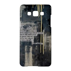 The Dutiful Rise Samsung Galaxy A5 Hardshell Case  by timelessartoncanvas