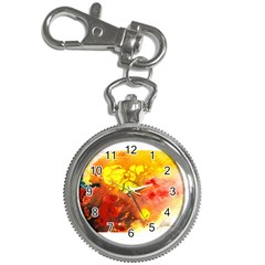 Fire, Lava Rock Key Chain Watches by timelessartoncanvas