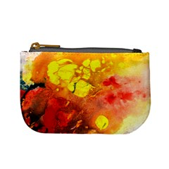 Fire, Lava Rock Mini Coin Purses
