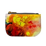 Fire, Lava Rock Mini Coin Purses Front