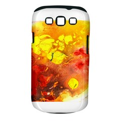 Fire, Lava Rock Samsung Galaxy S Iii Classic Hardshell Case (pc+silicone)