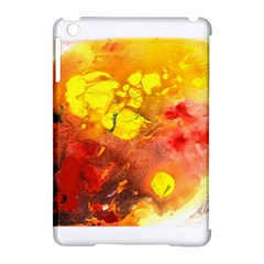 Fire, Lava Rock Apple Ipad Mini Hardshell Case (compatible With Smart Cover) by timelessartoncanvas