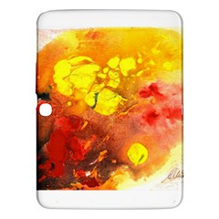 Fire, Lava Rock Samsung Galaxy Tab 3 (10 1 ) P5200 Hardshell Case  by timelessartoncanvas