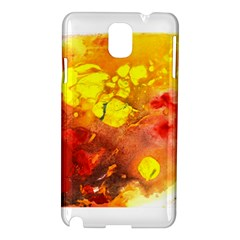 Fire, Lava Rock Samsung Galaxy Note 3 N9005 Hardshell Case