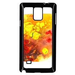 Fire, Lava Rock Samsung Galaxy Note 4 Case (black) by timelessartoncanvas