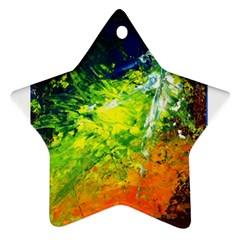 Abstract Landscape Ornament (star)