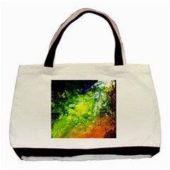 Abstract Landscape Basic Tote Bag  by timelessartoncanvas