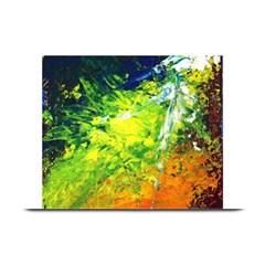 Abstract Landscape Plate Mats