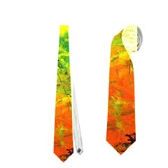 Abstract Landscape Neckties (two Side)  by timelessartoncanvas