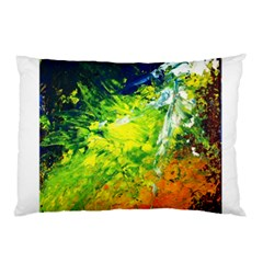 Abstract Landscape Pillow Cases