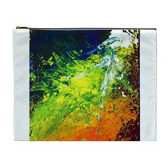 Abstract Landscape Cosmetic Bag (xl)