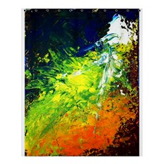 Abstract Landscape Shower Curtain 60  X 72  (medium)