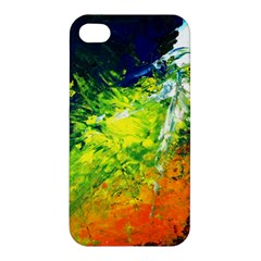 Abstract Landscape Apple Iphone 4/4s Premium Hardshell Case