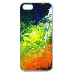 Abstract Landscape Apple Seamless Iphone 5 Case (clear) by timelessartoncanvas