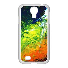 Abstract Landscape Samsung Galaxy S4 I9500/ I9505 Case (white)