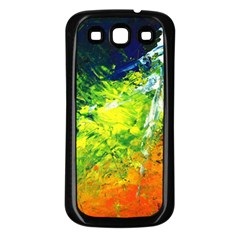 Abstract Landscape Samsung Galaxy S3 Back Case (black)