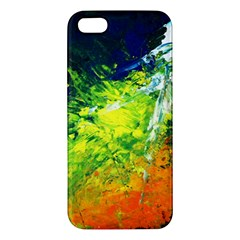 Abstract Landscape Iphone 5s Premium Hardshell Case
