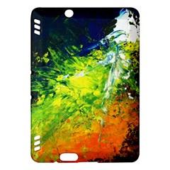 Abstract Landscape Kindle Fire Hdx Hardshell Case
