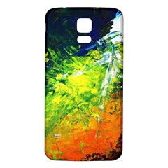 Abstract Landscape Samsung Galaxy S5 Back Case (white)