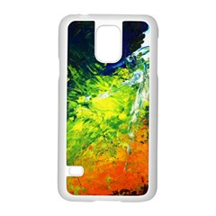 Abstract Landscape Samsung Galaxy S5 Case (white)