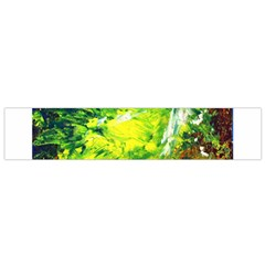 Abstract Landscape Flano Scarf (small)