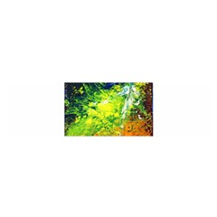 Abstract Landscape Satin Scarf (oblong)