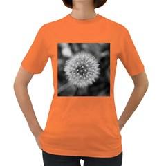 Modern Daffodil Seed Bloom Women s Dark T Shirt by timelessartoncanvas