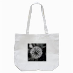 Modern Daffodil Seed Bloom Tote Bag (white)  by timelessartoncanvas