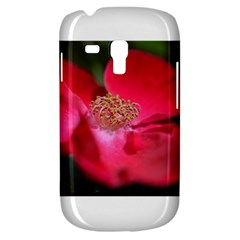 Bright Red Rose Samsung Galaxy S3 Mini I8190 Hardshell Case by timelessartoncanvas