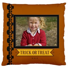 Halloween By Helloween   Large Flano Cushion Case (two Sides)   1vtb7slxohyq   Www Artscow Com Front
