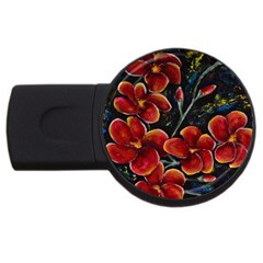 Hawaii Is Calling Usb Flash Drive Round (2 Gb)  by timelessartoncanvas