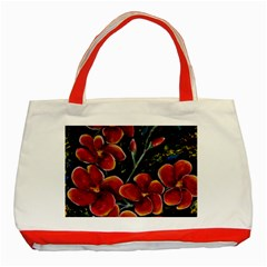 Hawaii Is Calling Classic Tote Bag (red)  by timelessartoncanvas