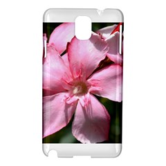 Pink Oleander Samsung Galaxy Note 3 N9005 Hardshell Case by timelessartoncanvas