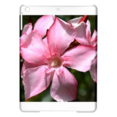 Pink Oleander Ipad Air Hardshell Cases by timelessartoncanvas