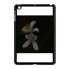 Lemon Blossom Apple Ipad Mini Case (black) by timelessartoncanvas