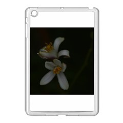 Lemon Blossom Apple Ipad Mini Case (white) by timelessartoncanvas