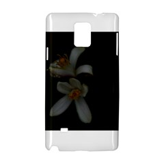 Lemon Blossom Samsung Galaxy Note 4 Hardshell Case by timelessartoncanvas