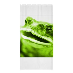 Green Frog Shower Curtain 36  X 72  (stall)  by timelessartoncanvas