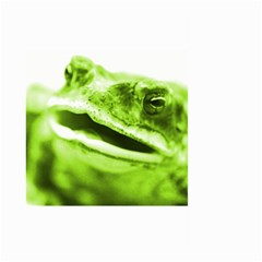 Green Frog Large Garden Flag (two Sides) by timelessartoncanvas