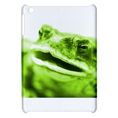 Green Frog Apple Ipad Mini Hardshell Case by timelessartoncanvas