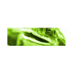 Green Frog Satin Scarf (oblong)