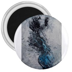 Ghostly Fog 3  Magnets by timelessartoncanvas