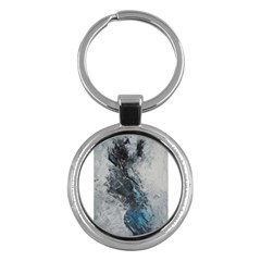 Ghostly Fog Key Chains (round)  by timelessartoncanvas