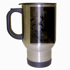Ghostly Fog Travel Mug (silver Gray) by timelessartoncanvas