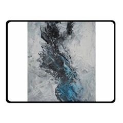Ghostly Fog Fleece Blanket (small)