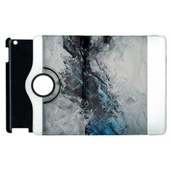 Ghostly Fog Apple Ipad 2 Flip 360 Case by timelessartoncanvas